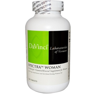 DaVinci Laboratories of Vermont, Spectra Woman, Multiple Vitamin/Mineral, 240 Tablets - iHerb.com