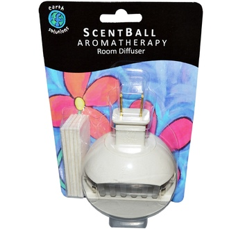 Earth Solutions, ScentBall, Aromatherapy Room Diffuser, 1 Diffuser - iHerb.com
