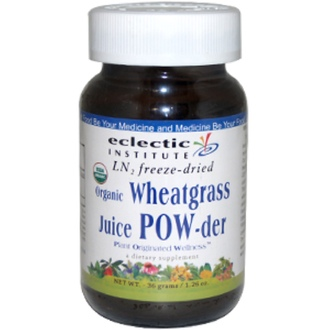 Eclectic Institute, Wheatgrass Juice Powder, Raw, 1.3 oz (36 g) - iHerb.com