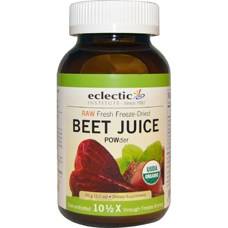 Eclectic Institute, Organic, Beet Juice POWder, 3.2 oz (90 g) - iHerb.com