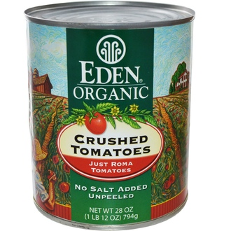 Eden Foods, Organic Crushed Tomatoes, Just Roma, 28 oz (794 g) - iHerb.com