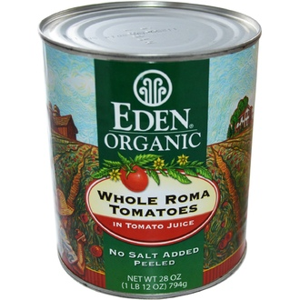 Eden Foods, Organic Whole Roma Tomatoes, 28 oz (794 g) - iHerb.com
