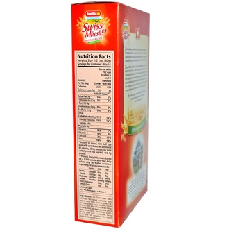 Familia, Swiss Muesli, Rolled Whole Grains with Fruit and Nuts, Original Recipe, 12 oz (340 g)  - iHerb.com