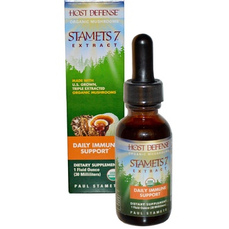 Fungi Perfecti, Host Defense, Stamets 7 Extract, Daily Immune Support, 1 fl oz (30 ml) - iHerb.com