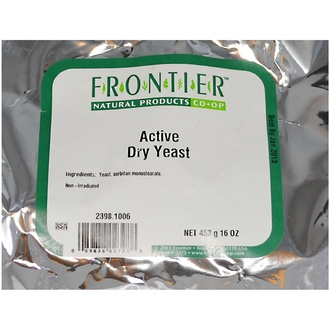 Frontier Natural Products, Active Dry Yeast, 16 oz (453 g) - iHerb.com