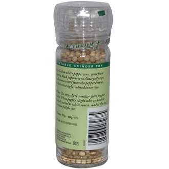 Frontier Natural Products, Organic Ceylon White Peppercorns, 2.08 oz (59 g) - iHerb.com