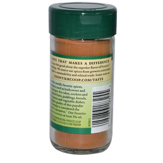 Frontier Natural Products, Cinnamon, Ground, 1.92 oz (54 g) - iHerb.com