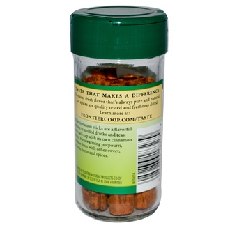 Frontier Natural Products, Cinnamon Sticks, 1.28 oz (36 g) - iHerb.com