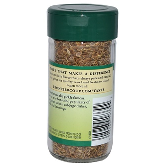 Frontier Natural Products, Dill Seed, Whole, 1.76 oz (49 g) - iHerb.com