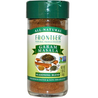 Frontier Natural Products, Garam Masala, Salt-Free Blend, 2 oz (56 g) - iHerb.com
