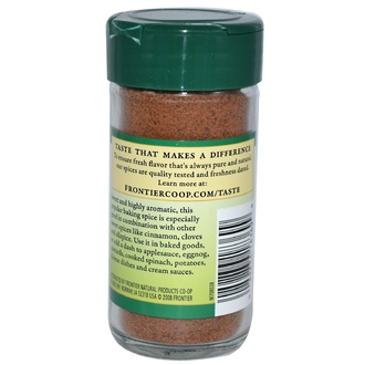 Frontier Natural Products, Nutmeg, Ground, 1.92 oz (54 g) - iHerb.com