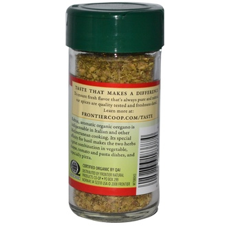 Frontier Natural Products, Organic Oregano Leaf Flakes, 0.36 oz (10 g) - iHerb.com