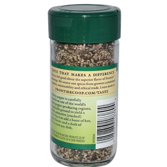 Frontier Natural Products, Cracked Black Pepper, 1.98 oz (56 g) - iHerb.com