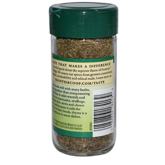 Frontier Natural Products, Thyme Leaf Flakes, 0.85 oz (24 g) - iHerb.com