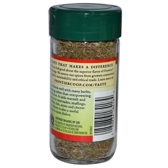 Frontier Natural Products, Organic Thyme Leaf, Whole, 0.63 oz (18 g) - iHerb.com