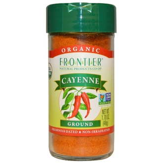Frontier Natural Products, Organic, Cayenne, Ground, 1.70 oz (48 g) - iHerb.com