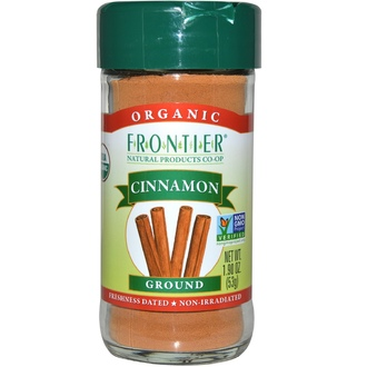 Frontier Natural Products, Organic Cinnamon, Ground, 1.9 oz (53 g) - iHerb.com