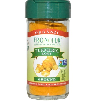 Frontier Natural Products, Organic, Turmeric Root, Ground, 1.41 oz (40 g) - iHerb.com