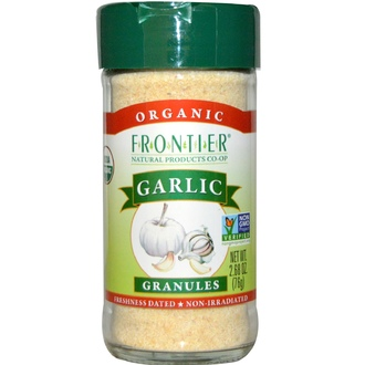 Frontier Natural Products, Organic Garlic, Granules, 2.68 oz (76 g) - iHerb.com
