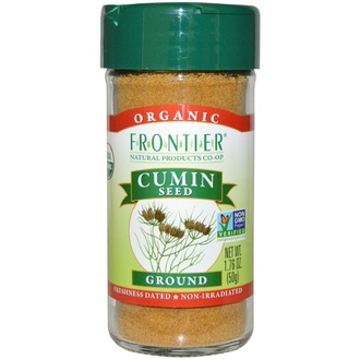 Frontier Natural Products, Organic Cumin Seed, Ground, 1.76 oz (50 g) - iHerb.com