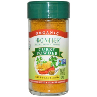 Frontier Natural Products, Organic Curry Powder, Salt-Free Blend, 1.90 oz (54 g) - iHerb.com