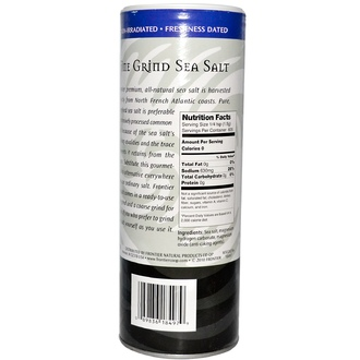 Frontier Natural Products, Culinary Spices, Sea Salt, Fine Grind, 32 oz (907 g) - iHerb.com