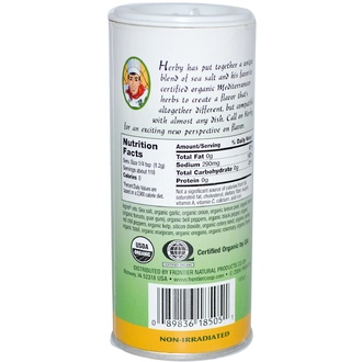 Frontier Natural Products, Organic Seasoning Blends, Herby, 5 oz (141.8 g) - iHerb.com