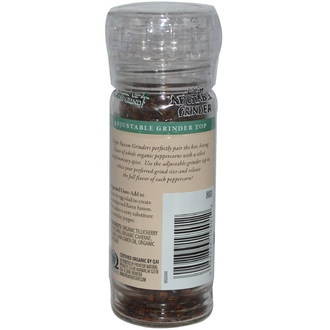 Frontier Natural Products, Pepper Fusion, Black Peppercorns with Cayenne, 1.76 oz (50 g) - iHerb.com