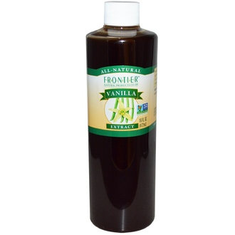 Frontier Natural Products, All-Natural, Vanilla Extract, 16 fl oz (472 ml) - iHerb.com