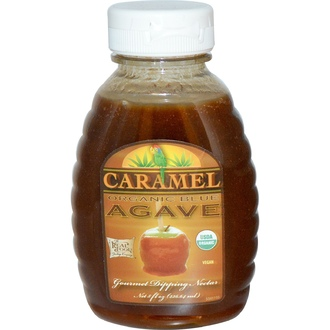 Fun Fresh Foods, Organic Blue Agave, Gourmet Dipping Nectar, Caramel, 8 fl oz (236.64 ml) - iHerb.com