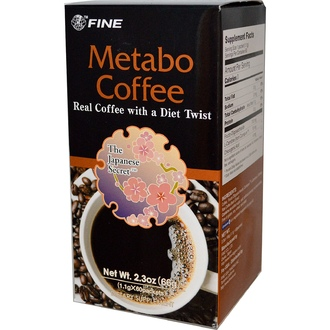 Fine USA Trading Inc., Metabo Coffee, 60 Packets, (1.1 g) Each  - iHerb.com