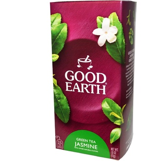 Good Earth Teas, Green Tea Jasmine, 25 Tea Bags, 1.8 oz (51 g) - iHerb.com