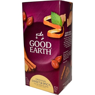 Good Earth Teas, Original Sweet & Spicy Tea & Herb Blend, 25 Tea Bags, 1.87 oz (53 g) - iHerb.com