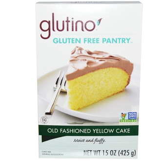 Gluten-Free Pantry, Old Fashioned Yellow Cake, 15 oz (425 g) - iHerb.com