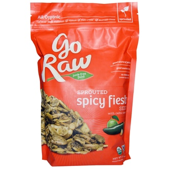 Go Raw, Organic Sprouted Spicy Fiesta Seeds with Celtic Sea Salt, 16 oz (454 g) - iHerb.com