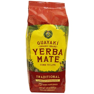 Guayaki, Traditional, Yerba Mate , 75 Tea Bags, 7.9 oz (225 g) - iHerb.com
