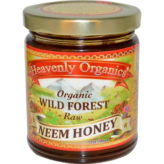 Heavenly Organics, Organic Wild Forest Raw Neem Honey, 12 oz (340 g) - iHerb.com
