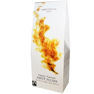Hampstead Tea, First Flush, Organic Fairtrade, 4.38 oz (125 g) - iHerb.com