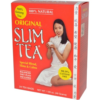 Hobe Labs, Original Slim Tea, 24 Tea Bags, 1.69 oz (48 g) - iHerb.com