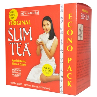 Hobe Labs, Slim Tea, Original, 60 Tea Bags, 4.20 oz (120 g) - iHerb.com