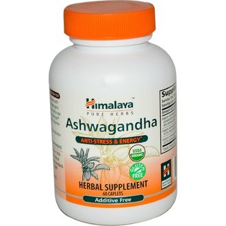Himalaya Herbal Healthcare, Ашвагандха, 60 капсул - iHerb.com