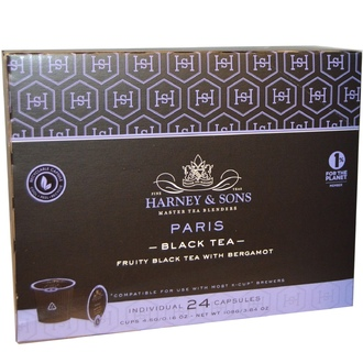 Harney & Sons, Paris, Black Tea, 24 K-Cups, 0.16 oz (4.5 g) Each - iHerb.com
