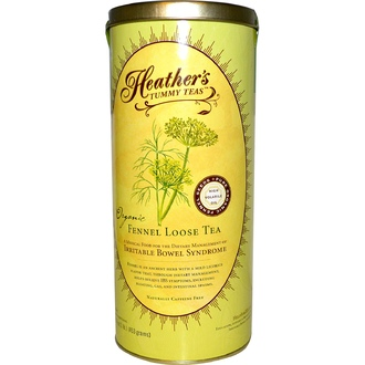 Heather\'s Tummy Care, Tummy Teas, Fennel Loose Tea, Organic, Caffeine Free, 16 oz (453 g) - iHerb.com