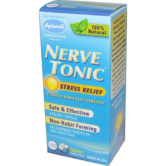 Hyland's, Nerve Tonic, Stress Relief, 100 Tablets - iHerb.com