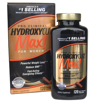 Hydroxycut, Pro Clinical, Max!, For Women, 120 Rapid Release Capsules - iHerb.com