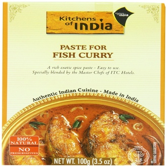 Kitchens of India, Paste For Fish Curry , 3.5 oz (100 g)  - iHerb.com