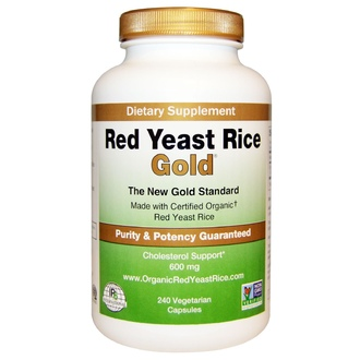 IP-6 International, Red Yeast Rice, Gold, 600 mg, 240 Veggie Caps - iHerb.com