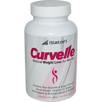 Isatori, Curvelle, Natural Weight Loss for Women, 100 Capsules - iHerb.com