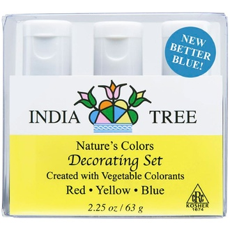 India Tree Gourmet Spices & Specialties, Nature\'s Colors, Decorating Set, 2.25 oz (63 g) - iHerb.com