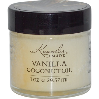 Kuumba Made, Vanilla Coconut Oil, 1 oz (29.57 ml) - iHerb.com